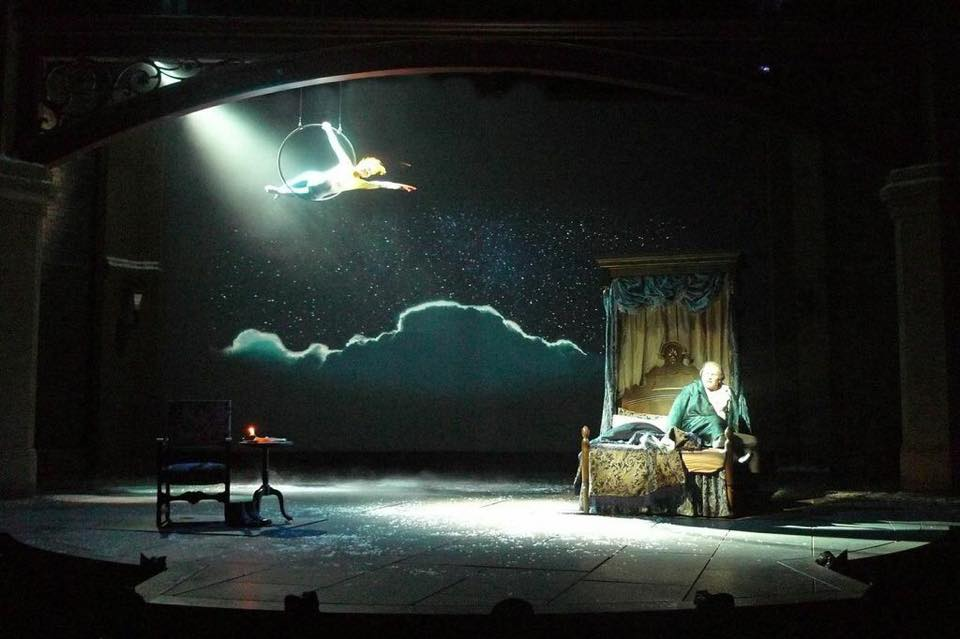 as Christmas Past in A Christmas Carol, Actors Theatre of Louisville | Shanara Gabrielle